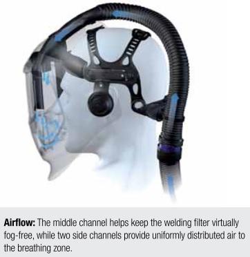 3M 25-5702-10SW Speedglas Features Ergonomically Designed Head Suspension