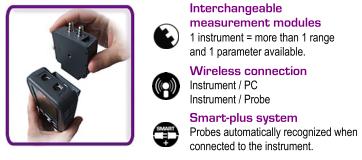 Kimo VT 200 L Features The Smart-Plus Recognition System