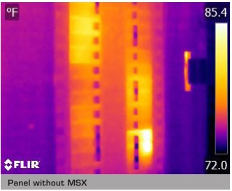 Infrared Thermography Without FLIR MSX Enhancement