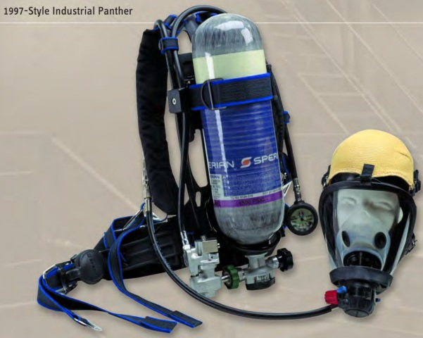Honeywell Survivair Panther 491121 NIOSH Industrial SCBA - 1997 Style