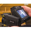 FLIR T440 IR Imaging Infrared Camera Has A Rotatable Optical Block