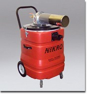 NIKRO APW15150 APW 15150 15 Gallon Compressed Air Powered HEPA Vacuum Cleaner