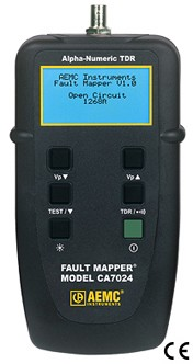 AEMC CA7024 2127.80 Fault Mapper Cable Length Locator Cable Tester