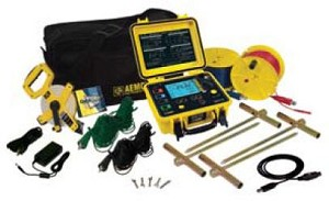 AEMC 6470 2135.04 Multi-Function Ground Resistance Tester Kit 500 Ft