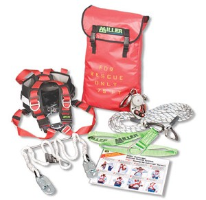 Miller SECRKT/225FT SafEscape Elite Crane Rescue Kit 225ft Fall Protection