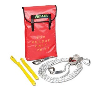 Miller SE/125FT SafEscape Elite RDD Rescue and Descent Device 125ft