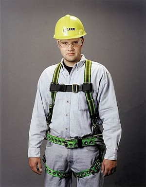 Miller E650-77/UGN DuraFlex Stretchable OSHA Harness