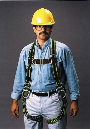 Miller E850-58/UGN DuraFlex Stretchable Construction Harness