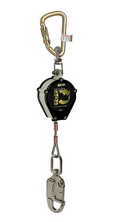 Miller CFL-4-Z7/9FT Black Rhino Self Retracting Cable Lanyard