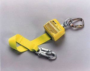 Miller AD6902/8FTYL Retractable Web Lanyard