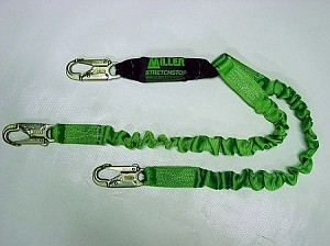 Miller 8798SS-Z7/6FTGN StretchStop ANSI Compliant Lanyard