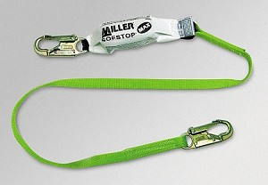 Miller 940WLS/6FTGN Double MAX Pack SofStop Web Lanyard