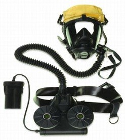 Honeywell Sperian SC420 SC 420 561034 CBRN Powered Respirator (NIOSH) with D-Cell Battery Small