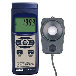 Reed Instruments SD-1128 SD 1128 Light Meter Lux Meter Data Logger