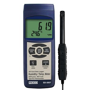Reed Instruments SD-3007 SD 3007 Thermo Hygrometer Data Logger